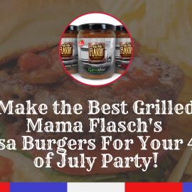 Mama Flasch Salsa Burgers