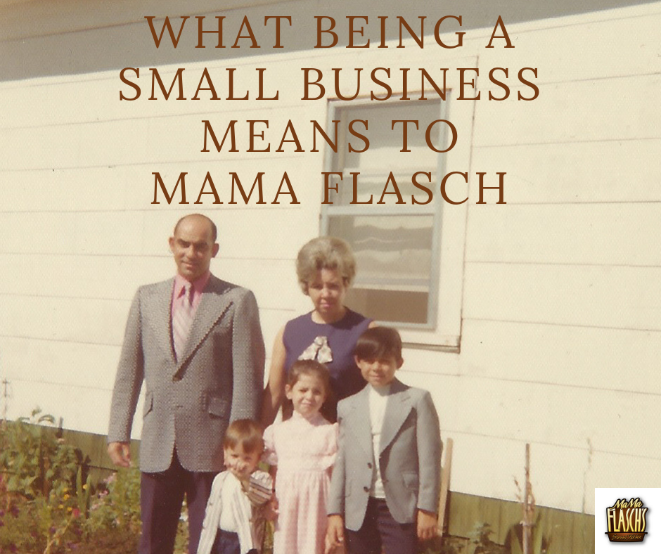 Flasch Family photos of grandparents and 3 children SMALL BUSINESS SATURDAY 2018 AND WHAT IT MEANS TO SUPPORT IT