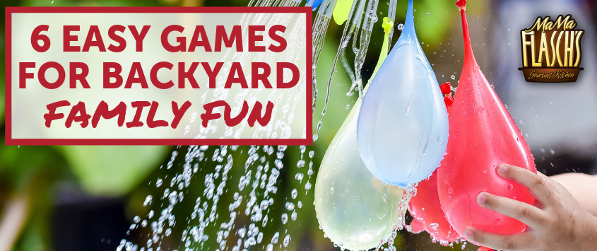 6 Easy Games For Backyard Family Fun