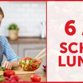 6 Easy School Lunches